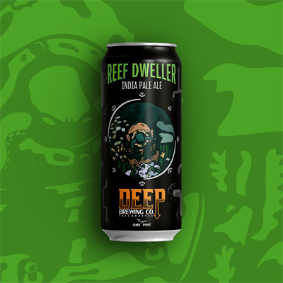 Deep Brewing Can: Reef Dweller